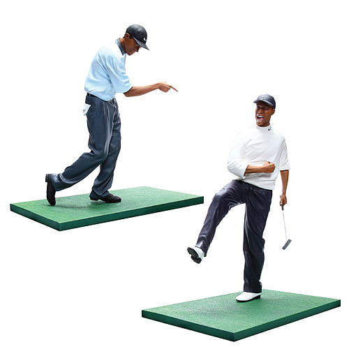 Tiger Woods Pro Shots Series 1 Action Figure Set