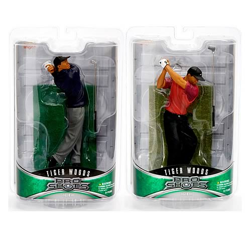 Tiger Woods Pro Shots Series 2 Set