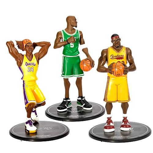 NBA Series 1 All-Star Vinyl Statue Set