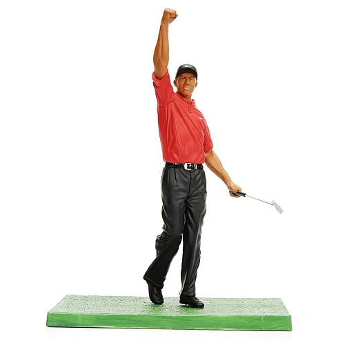 Tiger Woods Pro Shots Series 3 2001 Masters Figure