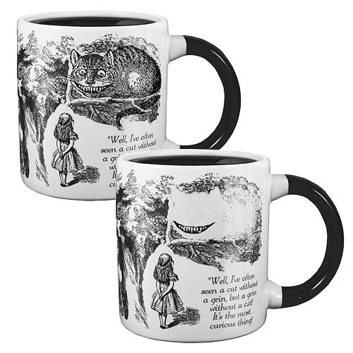 Alice in Wonderland Cheshire Cat Disappearing Mug