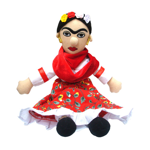 Frida Kahlo Little Thinker Plush
