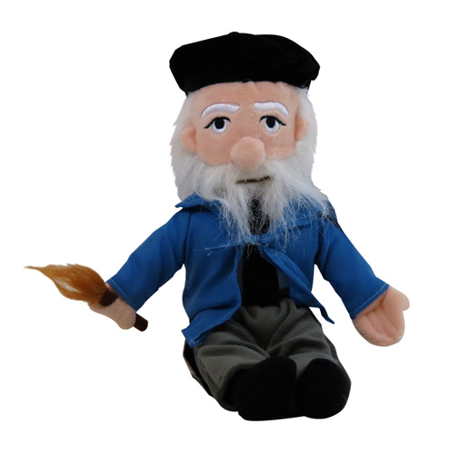 Oscar-Claude Monet Little Thinker Plush