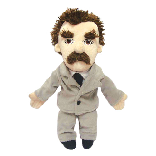 Friedrich Nietzsche Little Thinker Plush