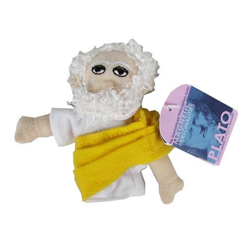 Plato Plush Finger Puppet Magnet