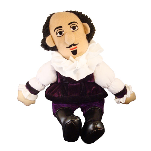 William Shakespeare Little Thinker Plush