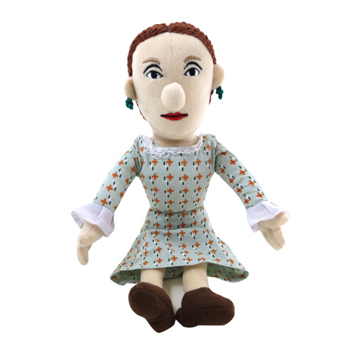 Virginia Woolf Little Thinker Plush
