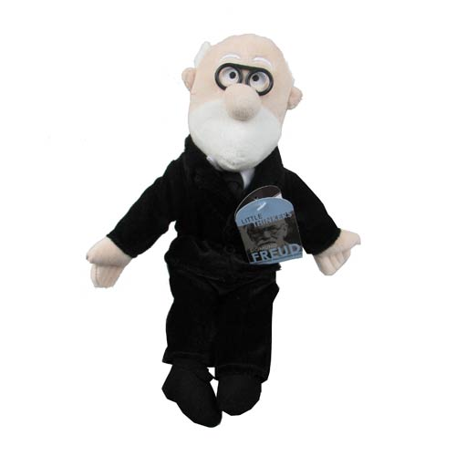 Sigmund Freud Little Thinker Plush