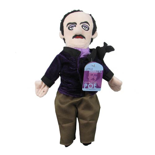 Edgar Allan Poe Little Thinker Plush