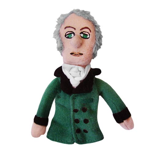 Georg Wilhelm Friedrich Hegel Plush Finger Puppet Magnet