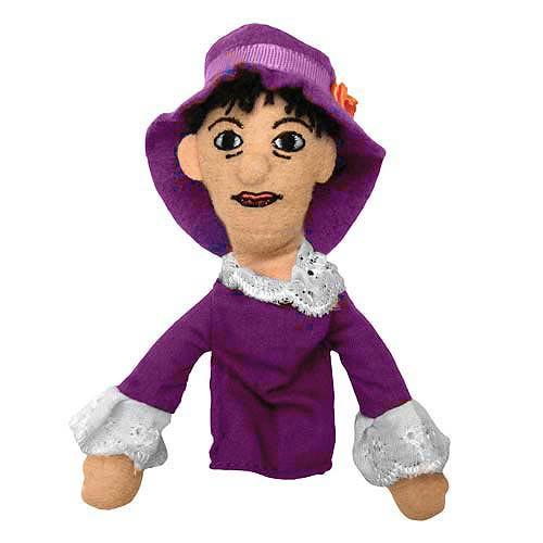 Dorothy Parker Plush Finger Puppet Magnet