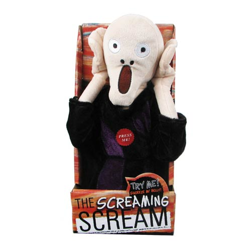 Edvard Munch's Scream Doll