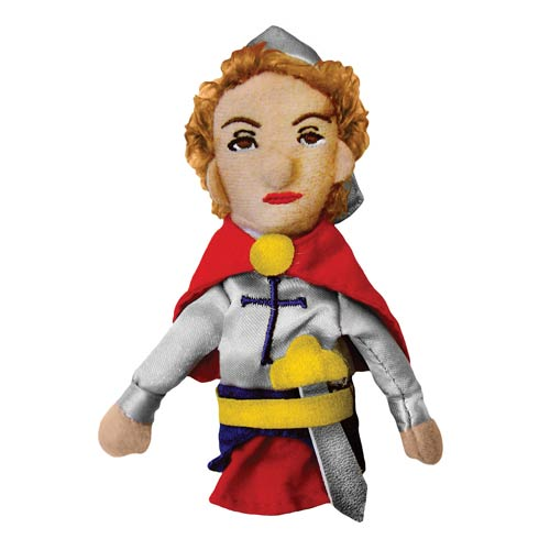 Joan of Arc Plush Finger Puppet Magnet