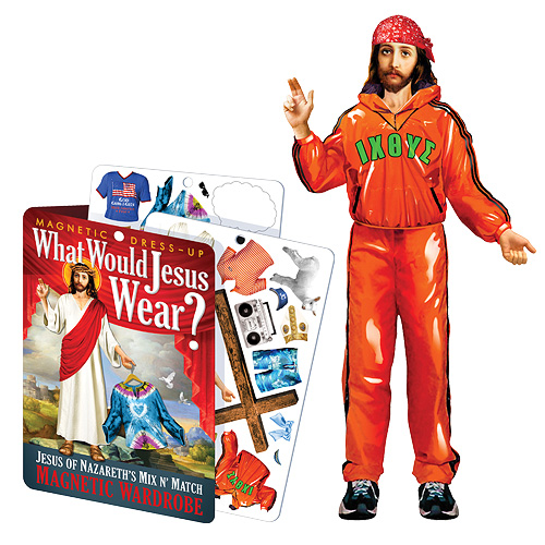 Jesus Dress-Up Magnet Set
