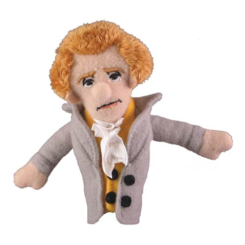 Thomas Jefferson Finger Plush Puppet Magnet