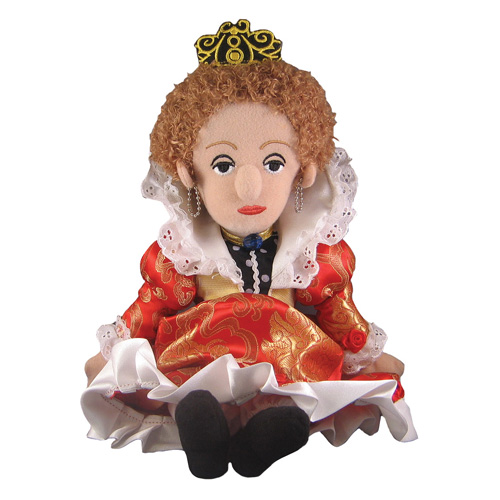 Queen Elizabeth Little Thinker Plush