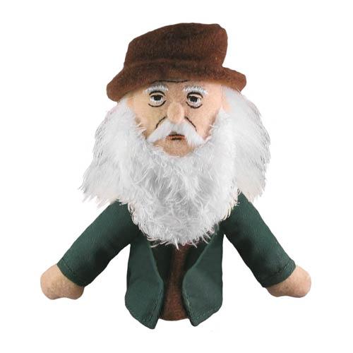 Leonardo da Vinci Plush Puppet Magnet