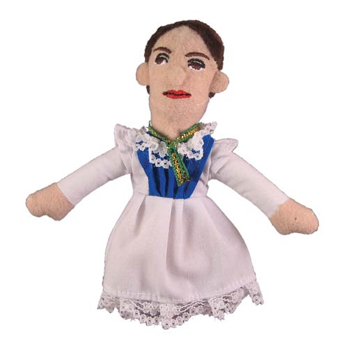 Emily Dickinson Plush Finger Puppet Magnet