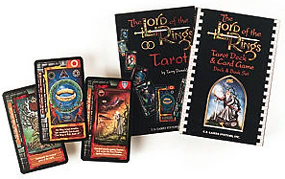 LOTR Tarot, Game & Book Set