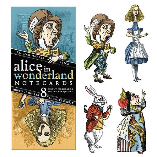 Alice in Wonderland Quotable Notables Cards Set