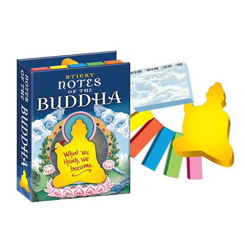 Notes of the Buddha Sticky Notes
