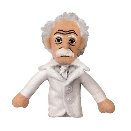 Mark Twain Plush Finger Puppet Magnet