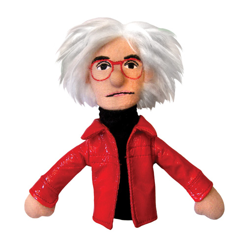 Andy Warhol Plush Finger Puppet Magnet