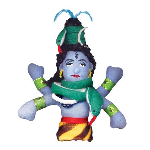 Shiva Plush Finger Puppet Magnet