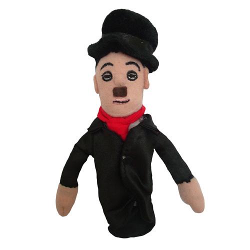 Charlie Chaplin Plush Finger Puppet Magnet