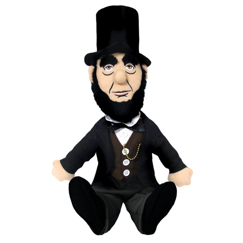 Abraham Lincoln Little Thinker Plush