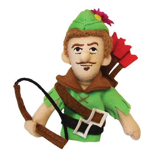 Robin Hood Plush Finger Puppet Magnet