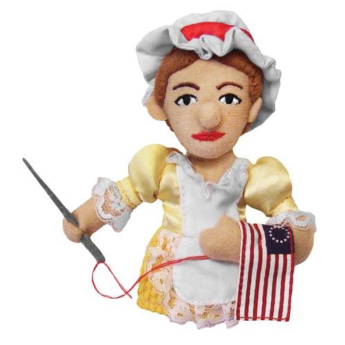 Betsy Ross Plush Finger Puppet Magnet