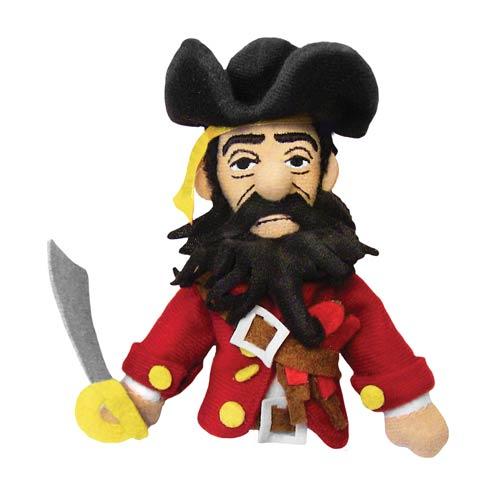 Blackbeard Plush Finger Puppet Magnet