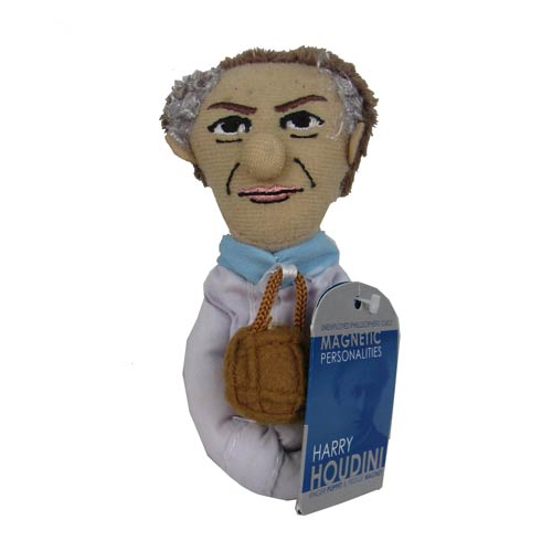 Harry Houdini Plush Finger Puppet Magnet