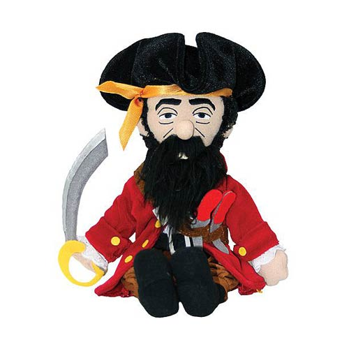 Blackbeard the Pirate Little Thinker Plush
