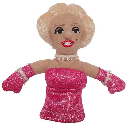 Marilyn Monroe Plush Finger Puppet Magnet
