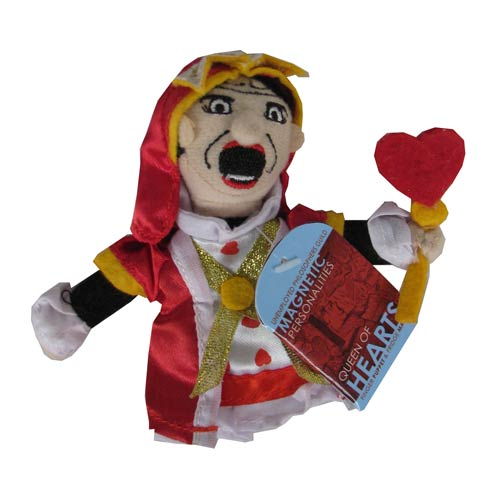 Alice in Wonderland Queen of Hearts Finger Puppet Magnet