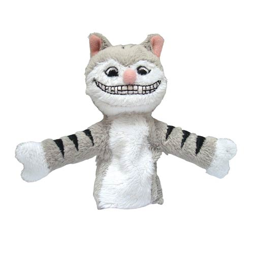 Alice in Wonderland Cheshire Cat Plush Finger Puppet Magnet