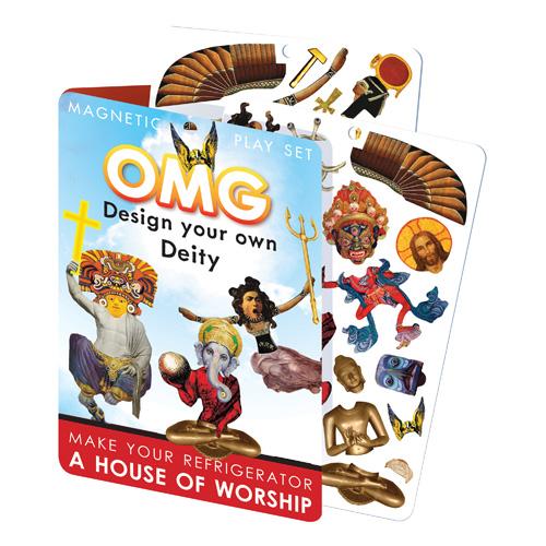 Design Your God Dress-Up Magnet Set