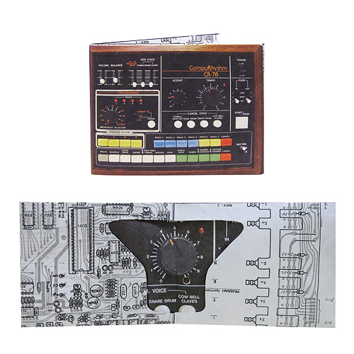 Drum Machine Wallet with Sound