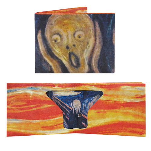 Edvard Munch's Scream Wallet with Sound