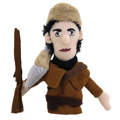 Davy Crockett Plush Finger Puppet Magnet