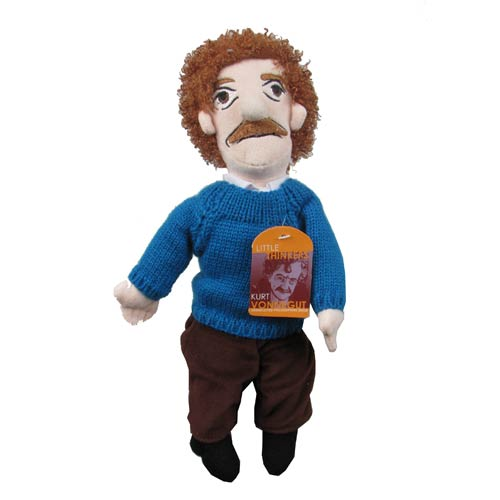 Kurt Vonnegut Little Thinker Plush