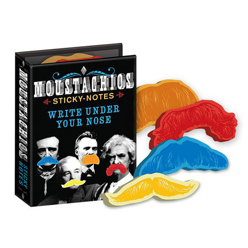 Moustachios Moustache Sticky Notes