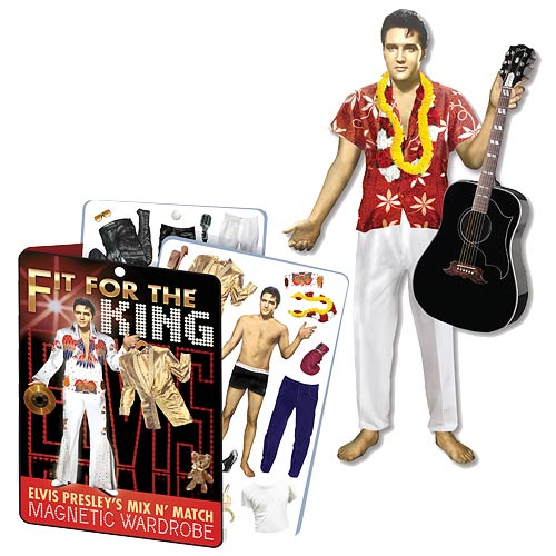 Elvis Presley Dress-Up Magnet Set