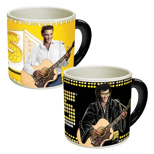 Elvis Presley Timeless Disappearing Mug