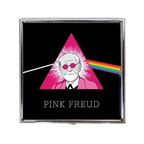 Sigmund Freud Pink Freud Pill Box