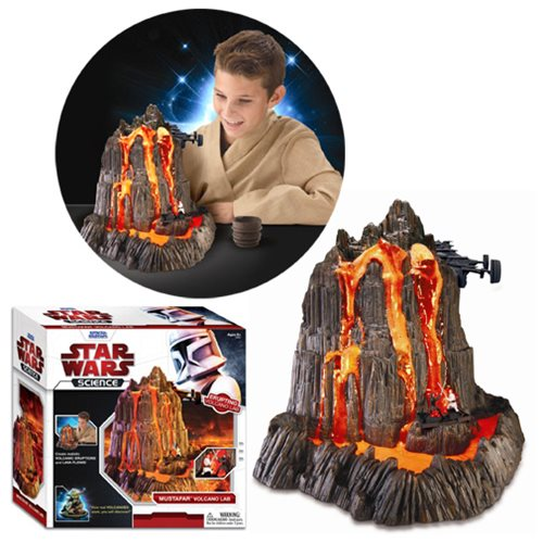 Star Wars Mustafar Volcano Lab Kit