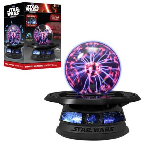 Star Wars Force Lightning Energy Light-Up Ball Science Toy ...