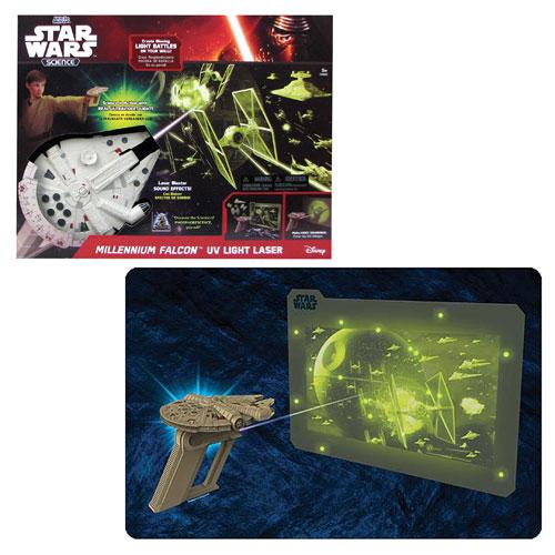 Star Wars Millennium Falcon UV Light Laser